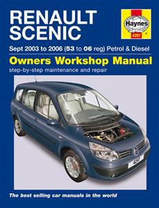 Renault Scenic 2003-06 Repair Manual Petrol & Diesel