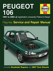 Peugeot 106 1991-04 Repair Manual Petrol & Diesel
