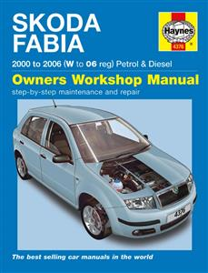 Skoda Fabia 2000-06 Repair Manual 1.2 1.4 Petrol & 1.4 1.9 Diesel