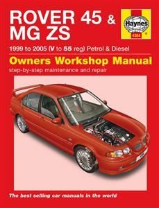 Rover 45 & MG ZS 1999-2005 Repair Manual Petrol & Diesel