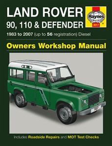 Land Rover 90 110 & Defender Diesel 1983-2007 Repair Manual 2.25 2.5 Turbo And Non Turbo Incl Td5