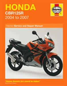 Honda CBR125R 2004-07 Repair Manual