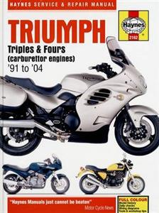 Triumph Triples And Fours 1991-2004 Repair Manual Carburettor Models Only