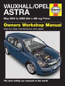 Vauxhall/Opel Astra 2004-08 Repair Manual Petrol (NZ Holden Astra)