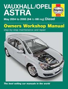 Vauxhall/Opel Astra 2004-07 Repair Manual Diesel (NZ Holden Astra)