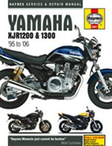 Yamaha XJR1200 & XJR1300 1995-06 Repair Manual