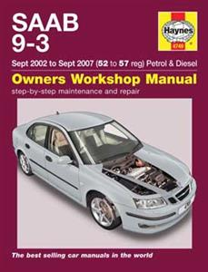 Saab 9-3 2002-07 Repair Manual 2.0 Petrol & 1.9 Diesel