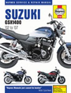 Suzuki GSX1400 2002-07 Repair Manual