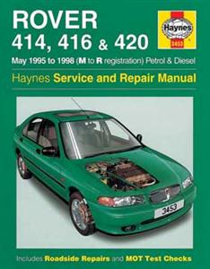 Rover 414 416 & 420 1995-99 Repair Manual Petrol & Diesel