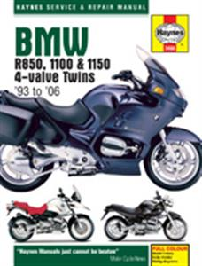 BMW R850 1100 & 1150 4valve Twins 1993-06 Repair Manual
