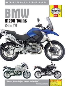 BMW R1200 2004-09 Repair Manual Cover GS GSAdv RT ST And S NO LONGER AVAILABLE