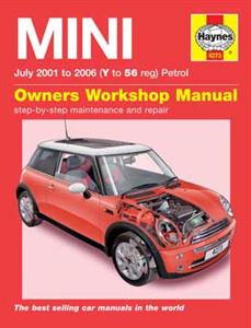 Mini 2001-06 Petrol Repair Manual Incl Cooper S