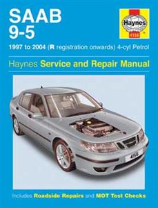 Saab 9-5 1997-2005 Repair Manual 4 Cylinder Petrol