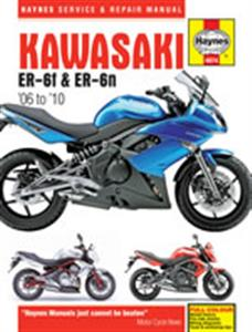 Kawasaki ER-6 2005-10 Repair Manual