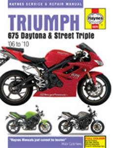 Triumph 675 Daytona And Street Triple 2006-2010 Repair Manual