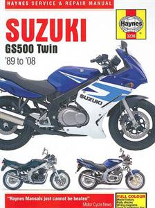 Suzuki GS500 Twin 1989-2008 Repair Manual