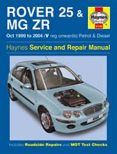 Rover 25 & MG ZR 1999-2006 Repair Manual Petrol & Diesel