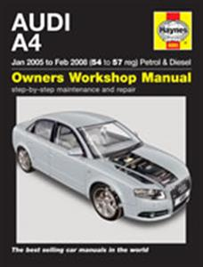Audi A4 2005-08 Repair Manual 4 Cyl Petrol & Diesel