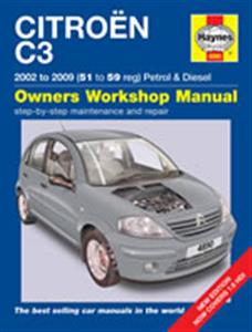 Citroen C3 2002-09 Repair Manual Petrol And Diesel