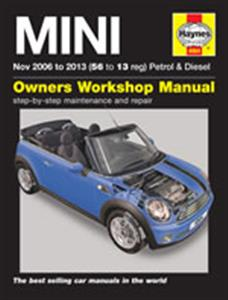 Mini 2006-13 Petrol & Diesel Repair Manual Incl Clubman & Convertible