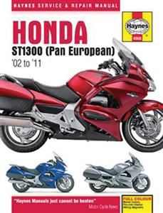 Honda ST1300 Pan European 2002-11 Repair Manual