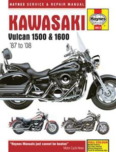 Kawasaki Vulcan VN1500 1987-2004 & VN1600 2003-08 Repair Manual
