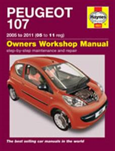 Peugeot 107 2005-11 Petrol Repair Manual