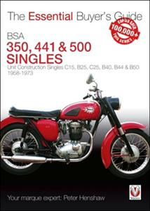 BSA 350 441 & 500 Unit Construction Singles Essential Buyers Guide