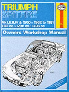 Triumph Spitfire 1962-81 Repair Manual