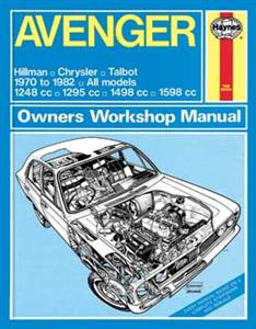 Hillman Avenger 1970-82 Repair Manual