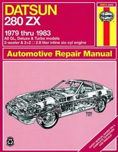 Datsun 280ZX 1979-83 Repair Manual