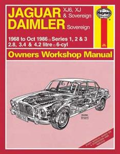 Jaguar XJ6 1968-86 Repair Manual Series 1 2 3 Incl Daimler Sovereign