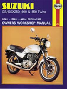 Suzuki GS/GSX250 400 450 1979-85 Repair Manual