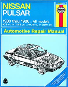 Nissan Pulsar 1983-86 Repair Manual