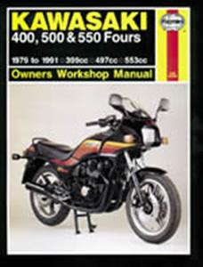 Kawasaki 400 500 550 Fours Z ZX KZ ZR 1979-1991 Repair Manual