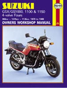 Suzuki GS/GSX 1000 1100 & 1150 4 Valve Fours 1979-88 Repair Manual