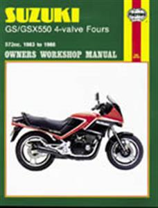 Suzuki GS/GSX 550 4 Valve Fours 1982-86 Repair Manual