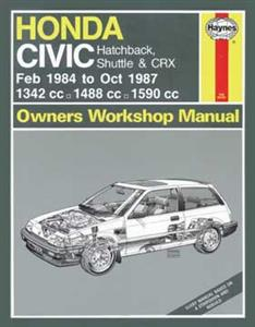 Honda Civic 1984-87 Repair Manual