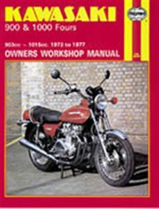Kawasaki 900 1000 Fours 1973-77 Repair Manual