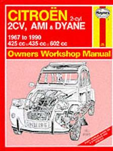 Citroen 2CV AMI & Dyane 1967-90 Repair Manual