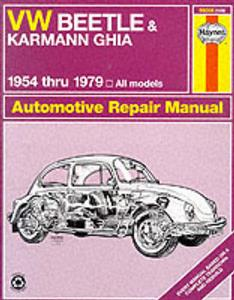 VW Beetle 1954-79 & Karmann Ghia 1956-75 Repair Manual