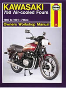 Kawasaki 750 Aircooled Fours 1980-91 Repair Manual