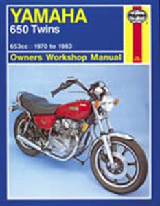 Yamaha 650 Twin 1970-83 Repair Manual
