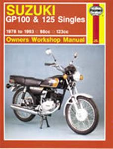 Suzuki GP100 & 125 Singles 1978-93 Repair Manual