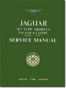 Jaguar E Type 3.8 4.2 Series 1 And 2 Factory Service Manual