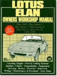 Lotus Elan Owners Workshop Manual 1962-74
