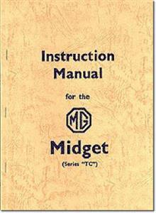 MG Midget TC Instruction Manual
