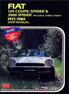 Fiat 124 Coupe/Spider & 2000 Spider 1971-84 Owners Workshop Manual
