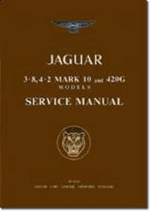 Jaguar Mk10 3.8 4.2 And 420G Factory Service Manual