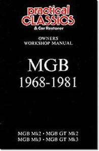 MG MGB 1968-1981 Owner's Workshop Manual